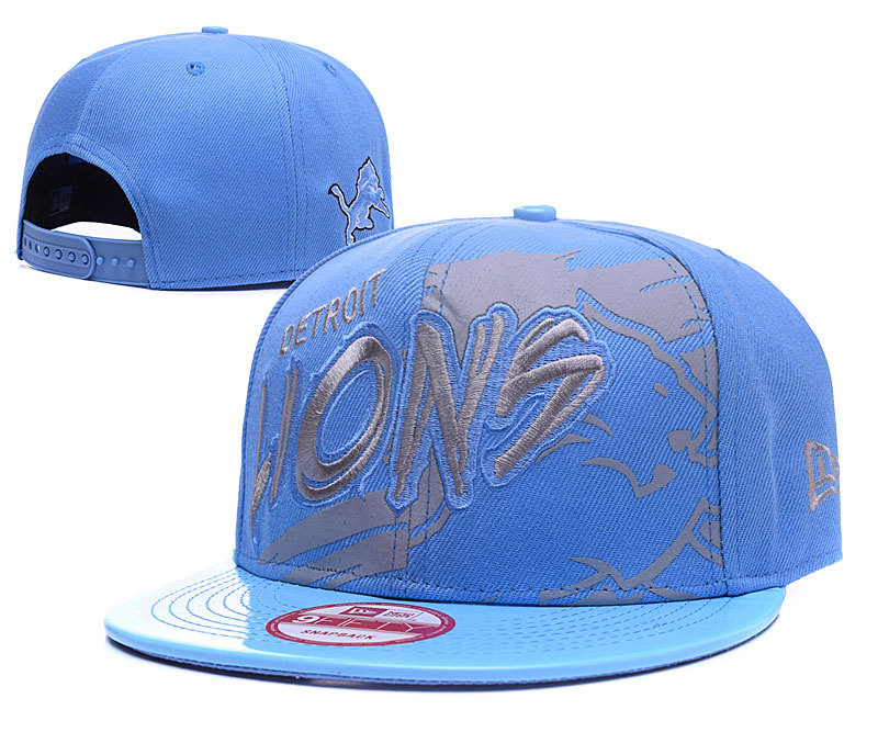 Lions Fresh Logo Blue Adjustable Hat GS