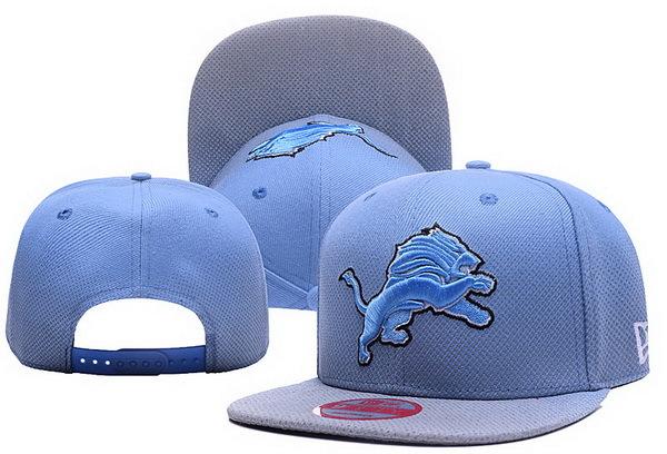 Lions Team Logo Blue Adjustable Hat XDF