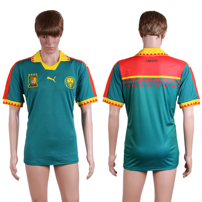 2016-17 Cameroon Home Thailand Soccer Jersey