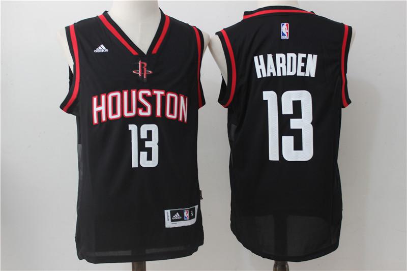 Rockets 13 James Harden Black 2016 Christmas Day Swingman Jersey