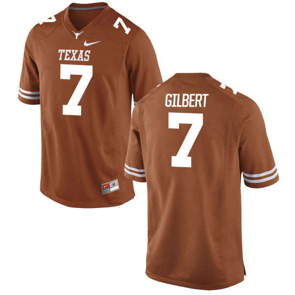 Texas Longhorns 7 Garrett Gilbert Orange Nike College Jersey