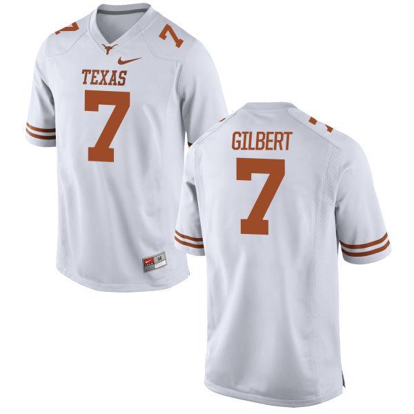 Texas Longhorns 7 Garrett Gilbert White Nike College Jersey