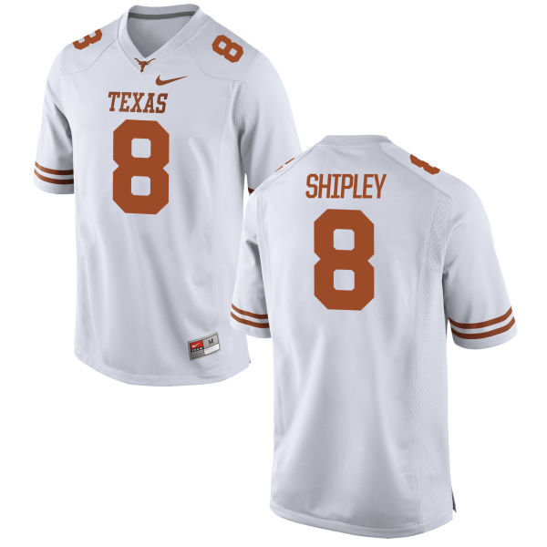 Texas Longhorns 8 Jordan Shipley White Nike College Jersey