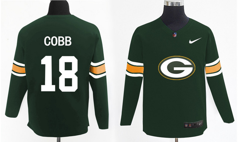 Nike Packers 18 Randall Cobb Green Knit Sweater