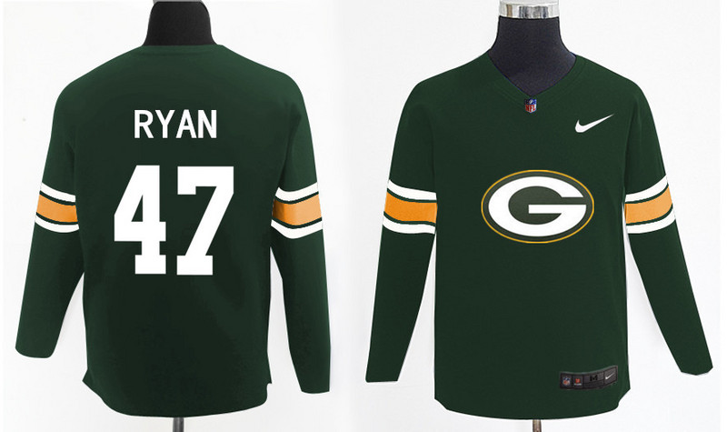Nike Packers 47 Jake Ryan Green Knit Sweater