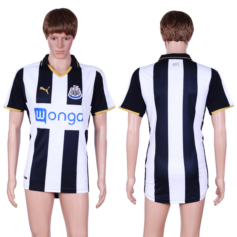 2016-17 Newcastle United Home Thailand Soccer Jersey