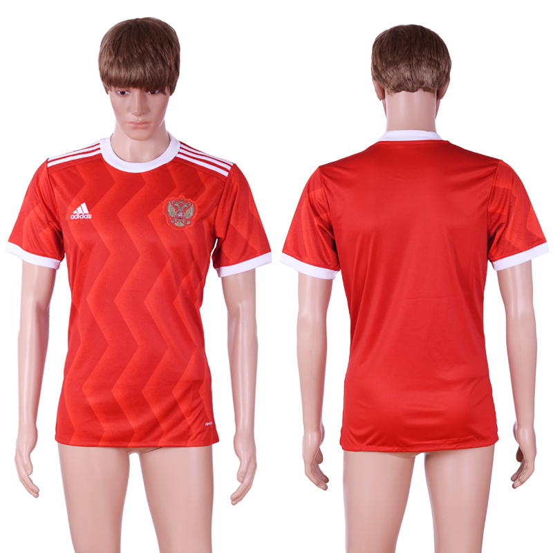 Russia 2017 Confederations Cup Home Thailand Soccer Jersey