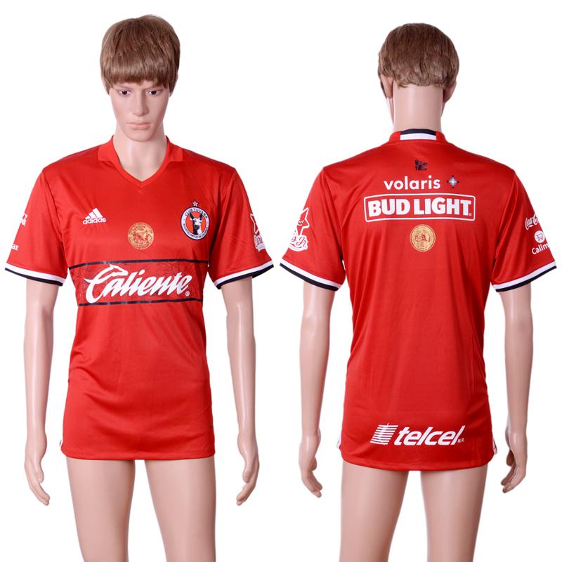 2016-17 Club Tijuana Home Thailand Soccer Jersey