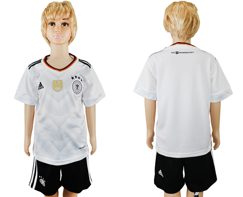 Germany Home 2017 FIFA Confederations Cup Youth Soccer Jersey