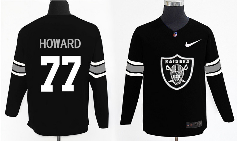 Nike Raiders 77 Austin Howard Knit Sweater