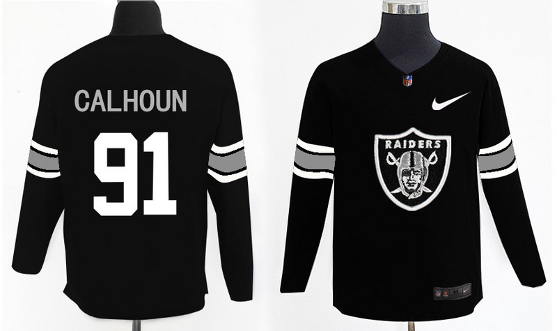 Nike Raiders 91 Shilique Calhoun Knit Sweater
