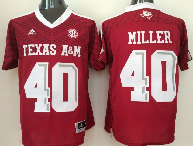 Texas A&M Aggies 40 Von Miller Red College Jersey