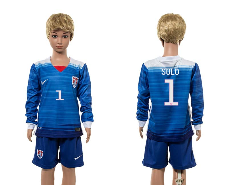 2015-16 USA 1 SOLO Away Youth Jersey