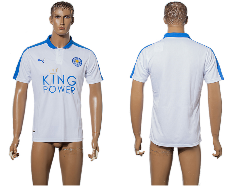 2015-16 Leicester City Third Away Thailand Soccer Jersey