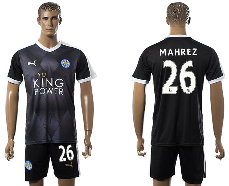 2015-16 Leicester City 26 MAHREZ Away Jersey
