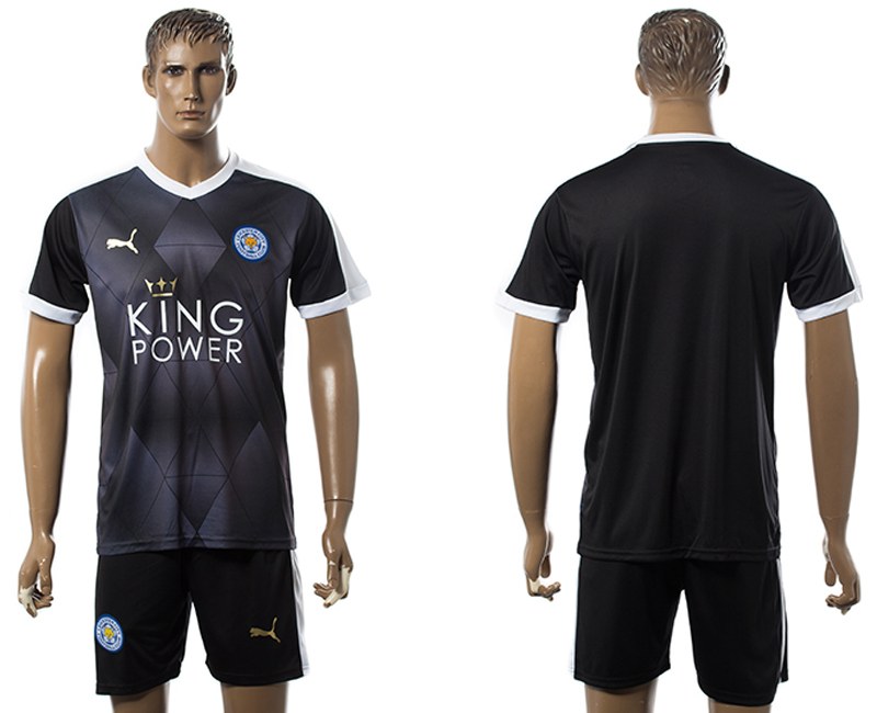 2015-16 Leicester City Away Jersey