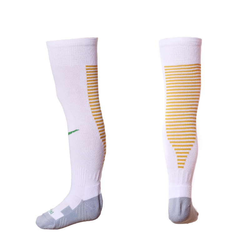 2016-17 Brazil Home Youth Soccer Socks