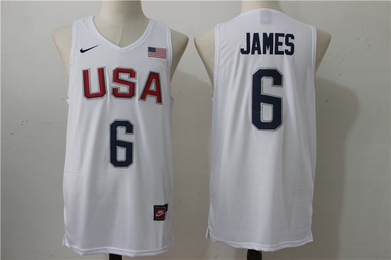 619dbcf2e426 usa basketball jersey white