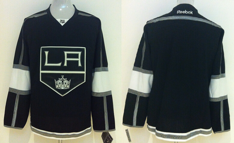 Kings Blank Black Reebok Jersey