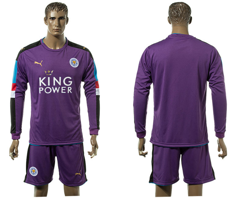 2015-16 Leicester City Purple Goalkeeper Jersey