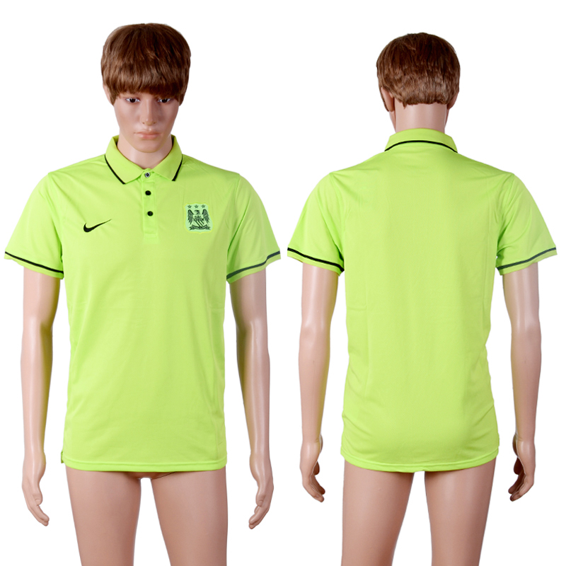Manchester City Green Men's Polo Shirt