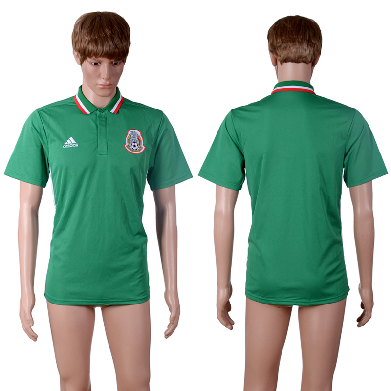 Mexico Green Men's Polo Shirt