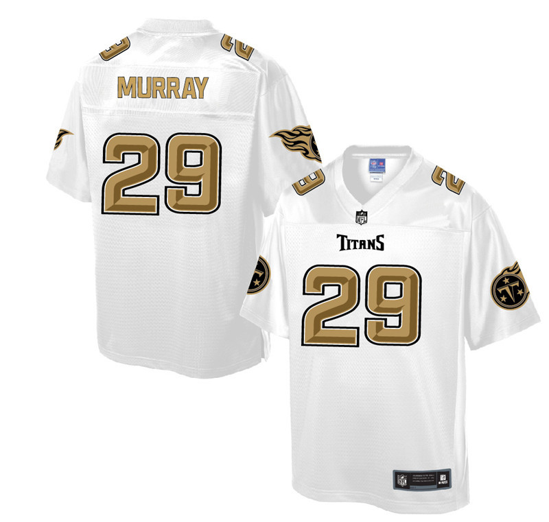 Nike Titans 29 DeMarco Murray Pro Line White Gold Collection Elite Jersey