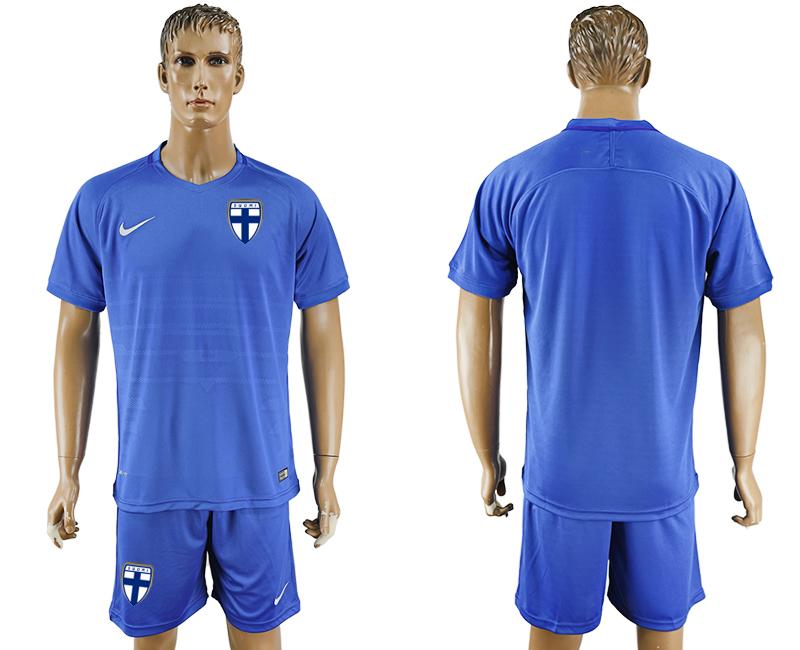 2016-17 Finland Away Soccer Jersey