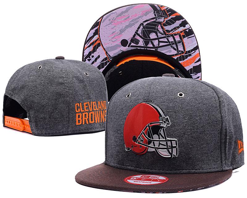 Browns Fresh Logo Grey Adjustable Hat DF
