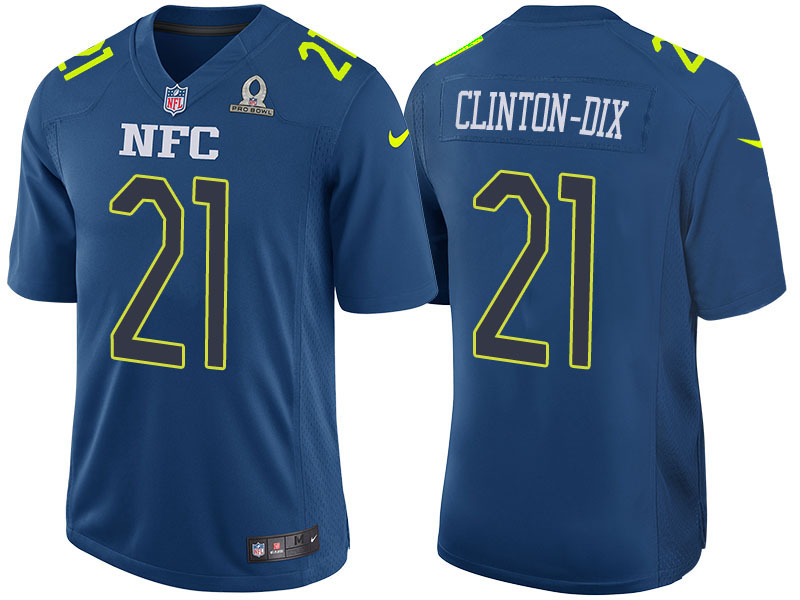 Nike Packers 21 Ha Ha Clinton-Dix Navy 2017 Pro Bowl Game Jersey