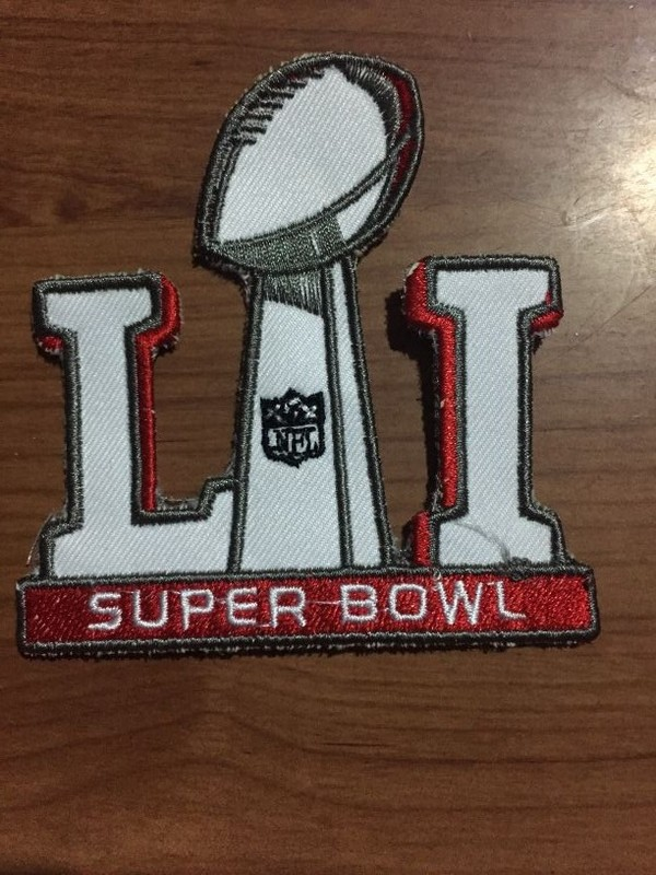 NFL 2017 Super Bowl LI Patch