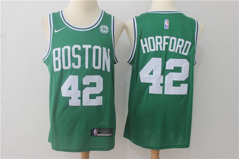 Celtics 42 Al Horford Green Nike Swingman Jersey