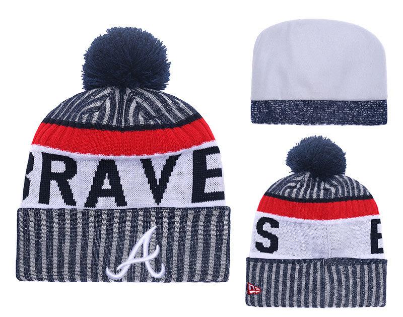 Braves Team Logo Knit Hat YD