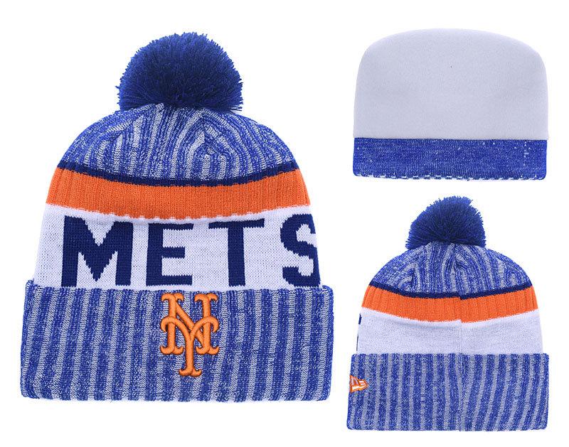 Mets Team Logo Knit Hat YD