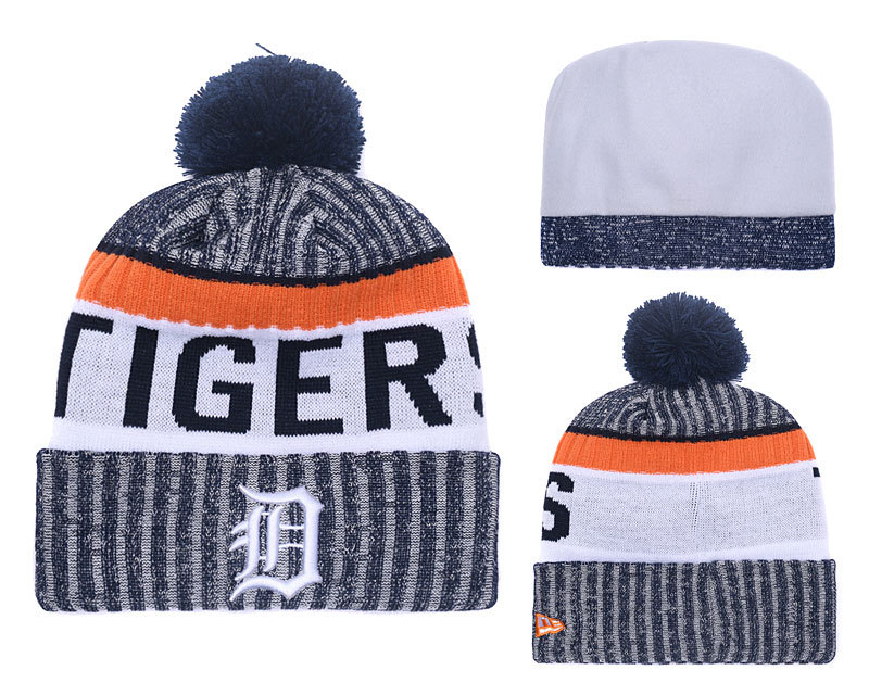 Tigers Team Logo Knit Hat YD