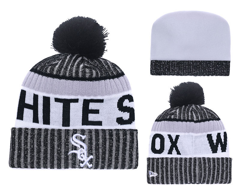 White Sox Team Logo Knit Hat YD