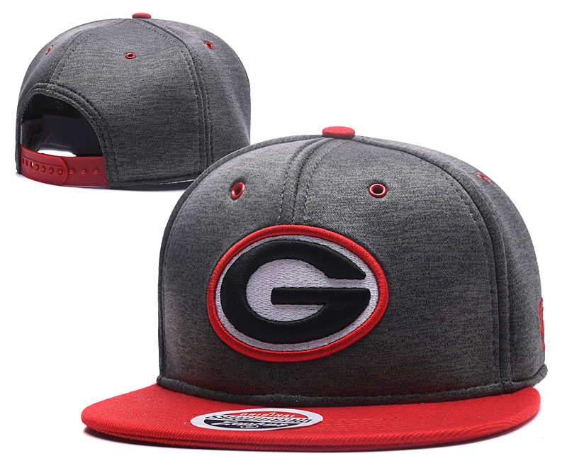 Packers Fresh Logo Gray Snapback Adjustable Hat GS
