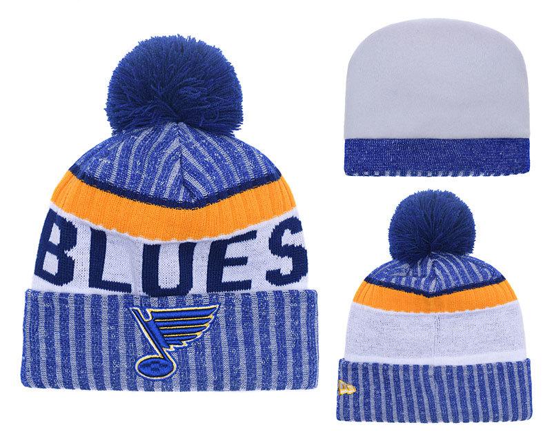 Blues Team Logo Knit Hat YD