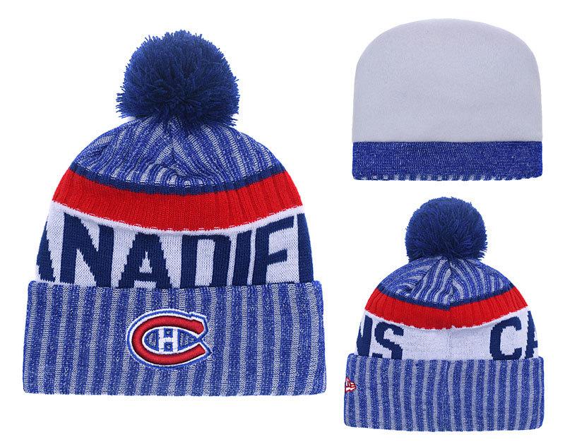 Canadiens Team Logo Knit Hat YD