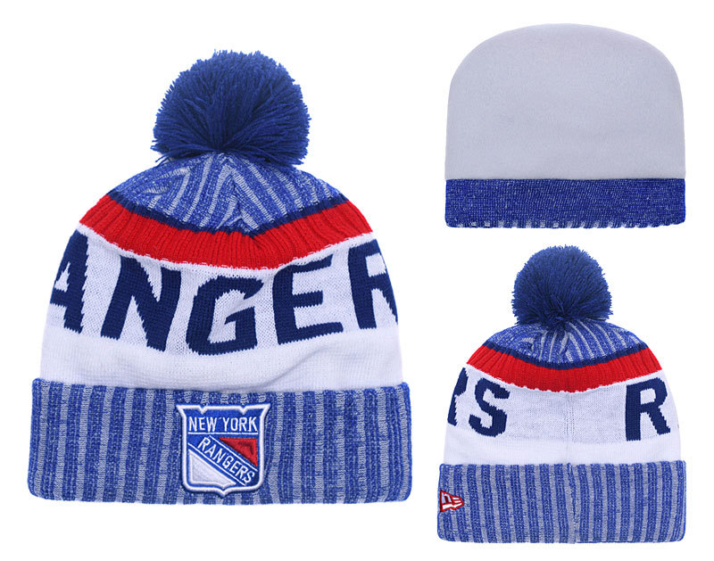 Rangers Team Logo Knit Hat YD