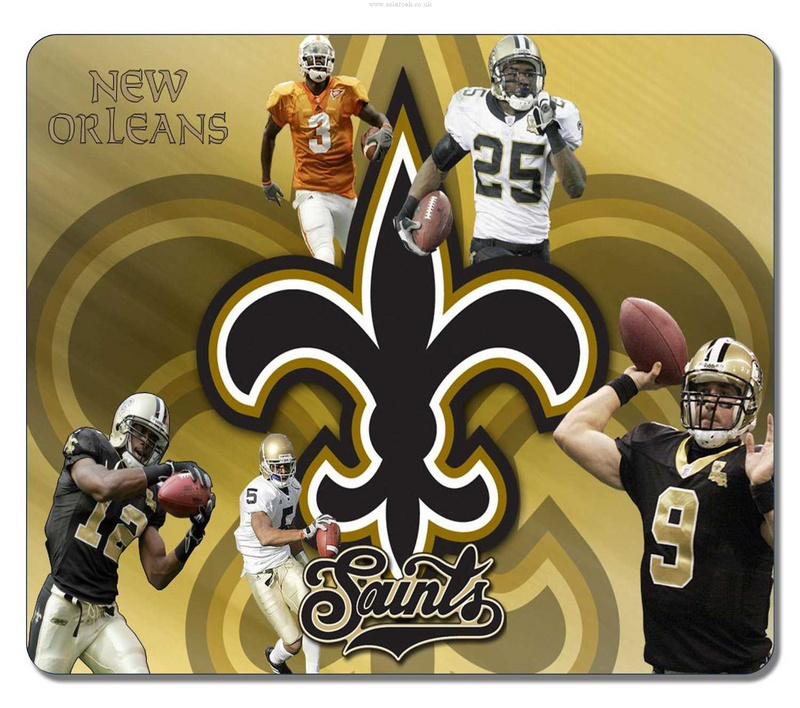 New Orleans Saints Gaming/Office NFL Mouse Pad