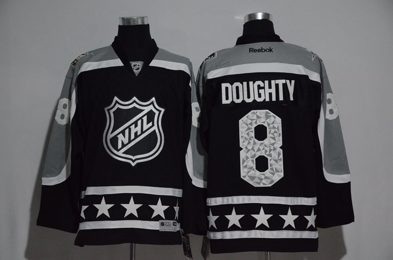 Kings 8 Drew Doughty Black Pacific Division 2017 NHL All-Star Game Premier Jersey