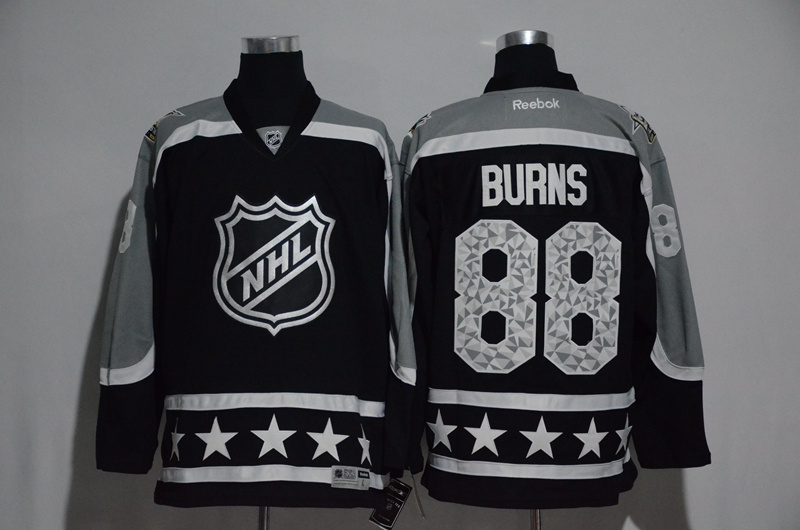 Sharks 88 Brent Burns Black Pacific Division 2017 NHL All-Star Game Premier Jersey