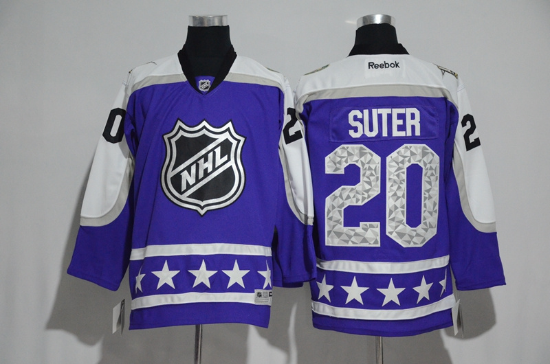 Wild 20 Ryan Suter Purple Central Division 2017 NHL All-Star Game Premier Jersey
