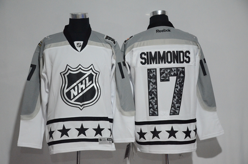 Flyers 17 Wayne Simmonds White Metropolitan Division 2017 NHL All-Star Game Premier Jersey