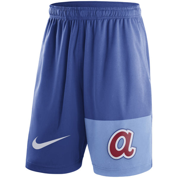 Men's Atlanta Braves Nike Royal Cooperstown Collection Dry Fly Shorts