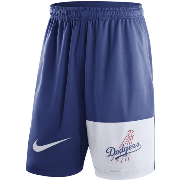 Men's Los Angeles Dodgers Nike Royal Cooperstown Collection Dry Fly Shorts