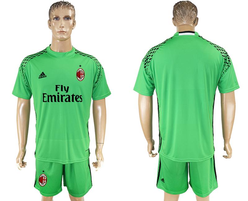 2016-17 AC Milan Green Goalkeeper Soccer Jersey
