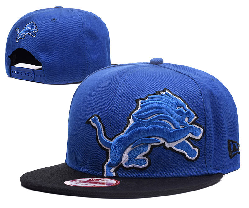 Lions Big Logo Blue Adjustable Hat GS