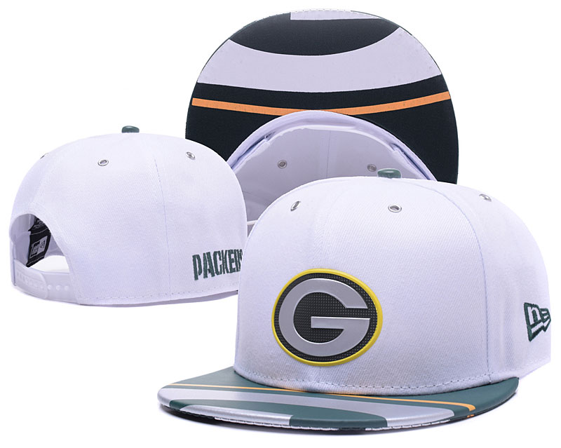 Packers Team Logo White Adjustable Hat YS